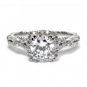 Verragio Parisian Collection 14K White Gold Diamond Semi-Mount Engagement Ring (E109CU0)