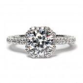 Verragio Venetian Collection 14K White Gold Diamond Semi-Mount Engagement Ring (AFN50241)