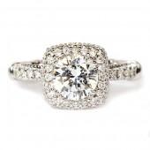 Parisian Diamond Semi-Mount Engagement Ring by Verragio (D133CUDGOLD)
