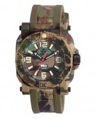 Reactor Gryphon ND Jungle Camo Watch