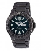Reactor Gamma Matte Black Stainless Steel Watch