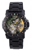 Reactor Trident 2 Real Tree Dial and Black Stainless Steel Bracelet
