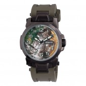 Reactor Atom Watch with Real Tree Camo Dial and OD Green Rubber Strap