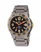 Reactoe Gamma 2 Titanium Watch Black Dial