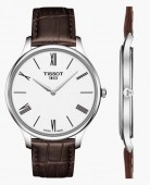 Tissot Tradition  White Roman Dial