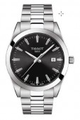 Tissot Gentleman Stainless Steel Black Dial