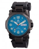 Reactor Atom Electric Blue Dial Watch