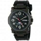 Reactor Atom Black Dial Watch