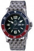 Reactor Tau Red and Blue Bezel Watch