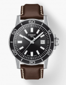 Tissot Supersport Watch with Black Dial