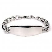 Gm Ss Link Bracelet Ss Chain