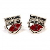 Sterling Silver 2011 Football Natl Championship Cufflinks