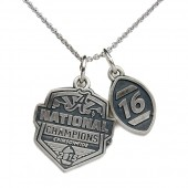 University of Alabama 2015 National Championship Pendant Necklace