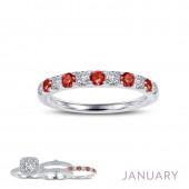 January Birthstone Ring