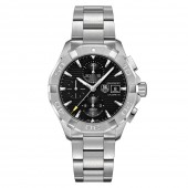 Aquaracer 300M Steel Bezel Calibre 16 Automatic Chronograph