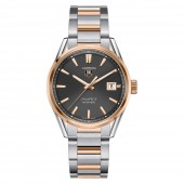 TAG Heuer Carrera Calibre 5 Steel & Rose Gold (18K 5N) - Automatic Watch