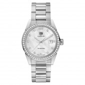 TAG HEUER CARRERA Ladies Quartz Watch with Diamonds