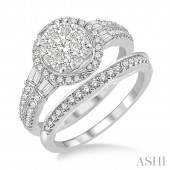 14K White Gold 1.25 CTW
