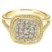 14KY .49CTW Diamond Ring