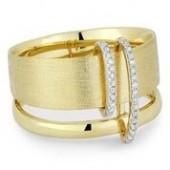 14KY .09CTW Diamond Ring