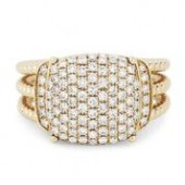 14KY .68CTW Diamond Fashion Ring