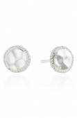 Anna Beck Sterling Silver Hammered Stud Earrings