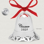 Towle 2020 Silver Plate Musical Bell Ornament