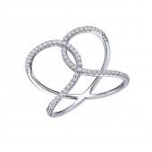 Open Crisscross Ring