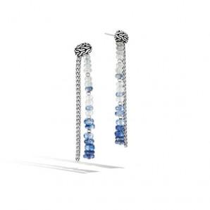 Women's Classic Chain Silver Drop Earrings