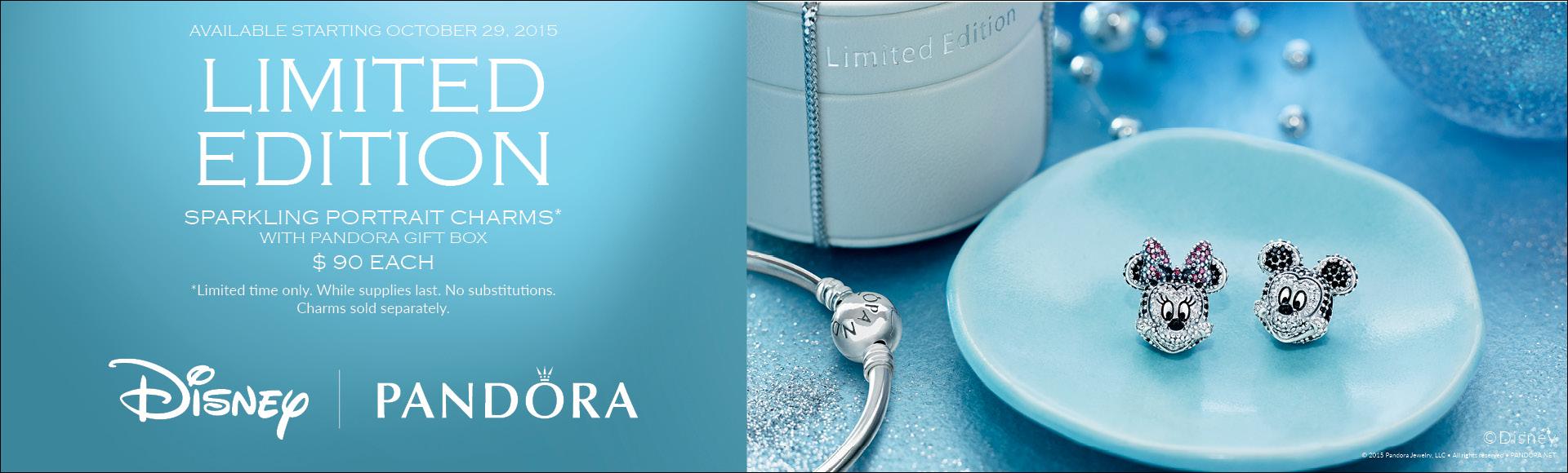 Pandora Disney Limited Edition Charms