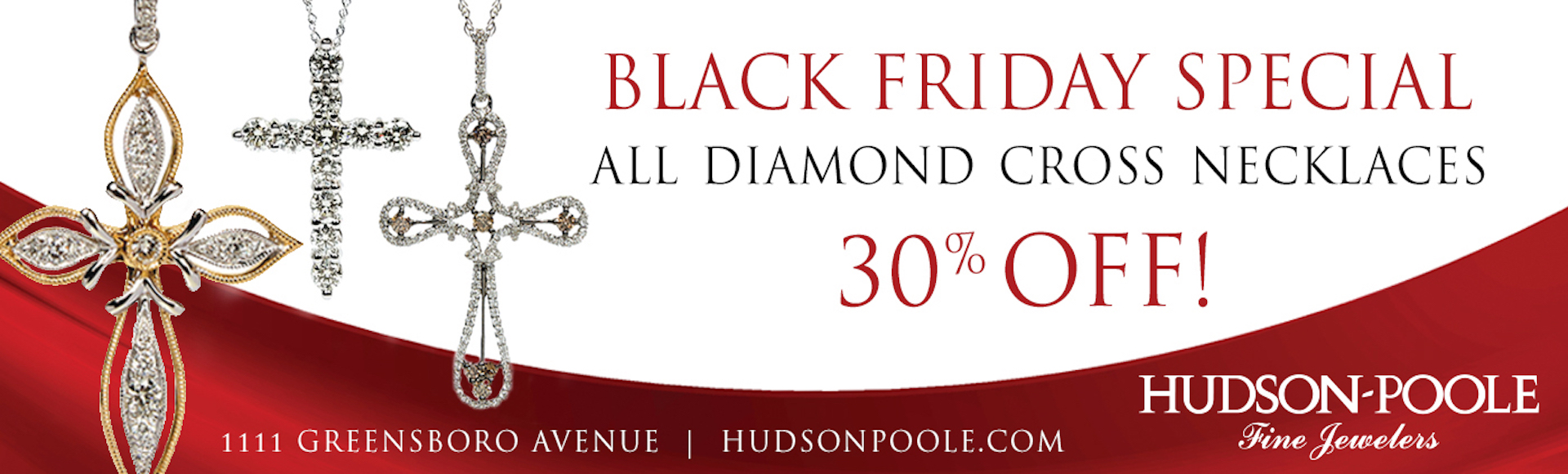 Black Friday Special - Cross Necklaces