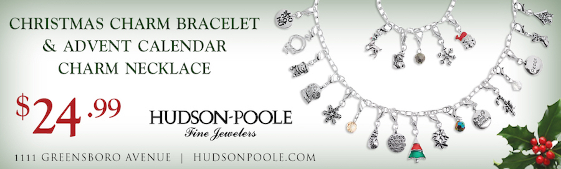 Christmas Charm Bracelet and Advent Necklace Special