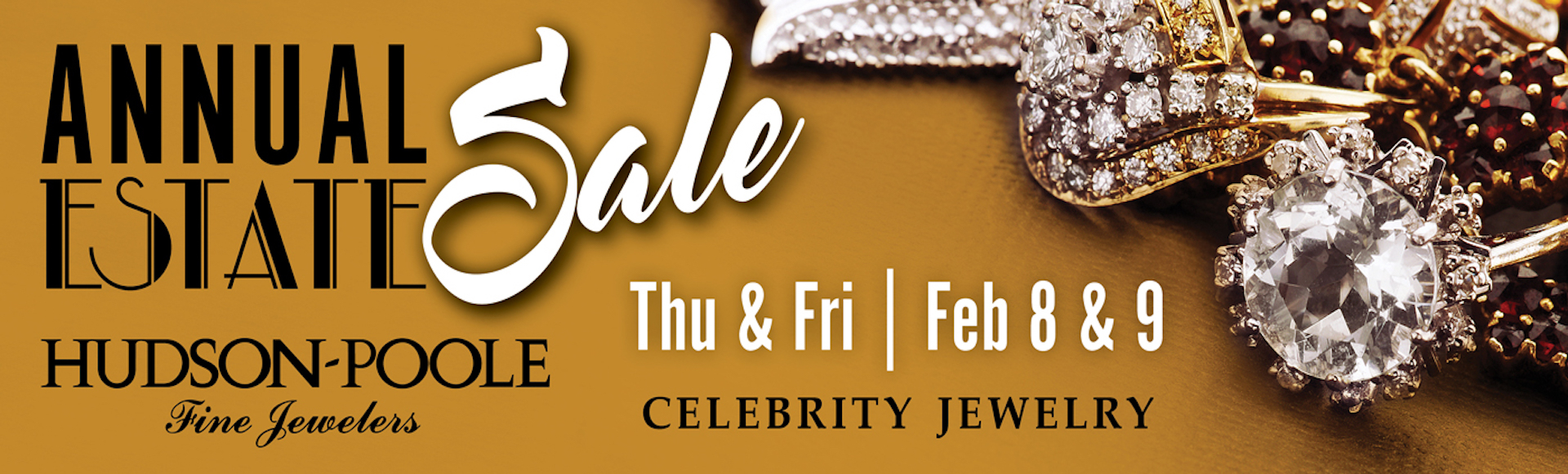 Celebrity Jewelry Estate Sale Feb 8 & 9