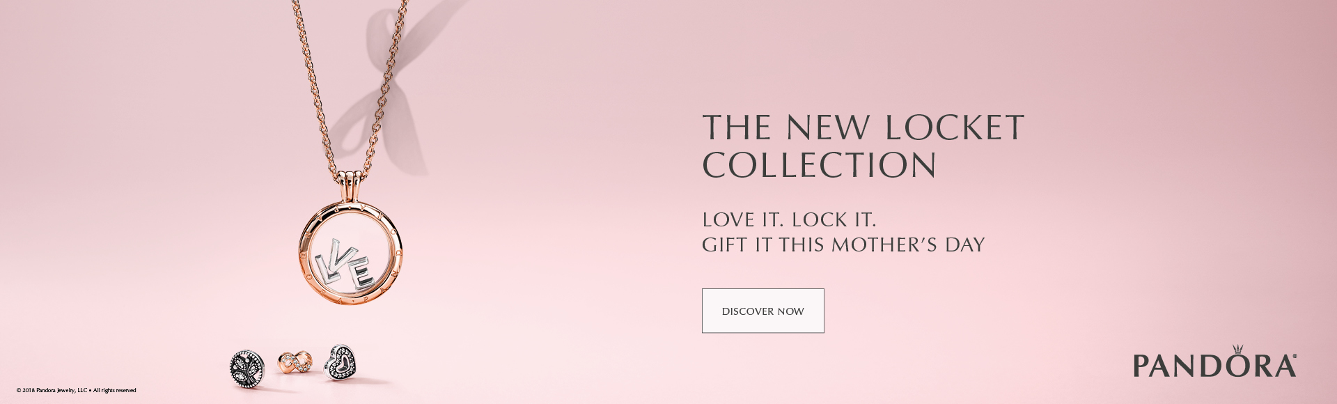 Pandora New Locket Collection for Mother's Day