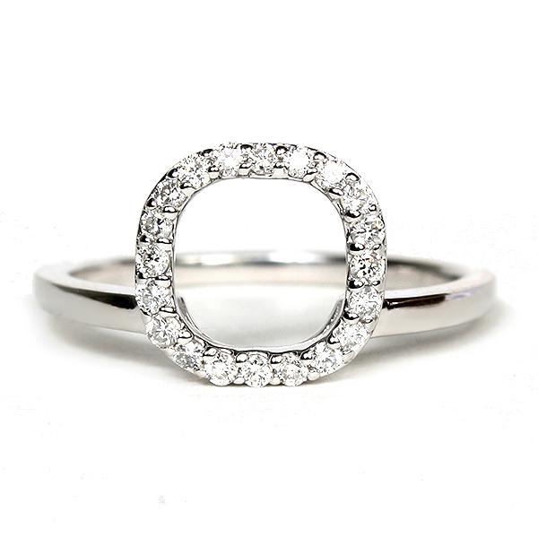 14k white gold halo enhancer ring 116 14135